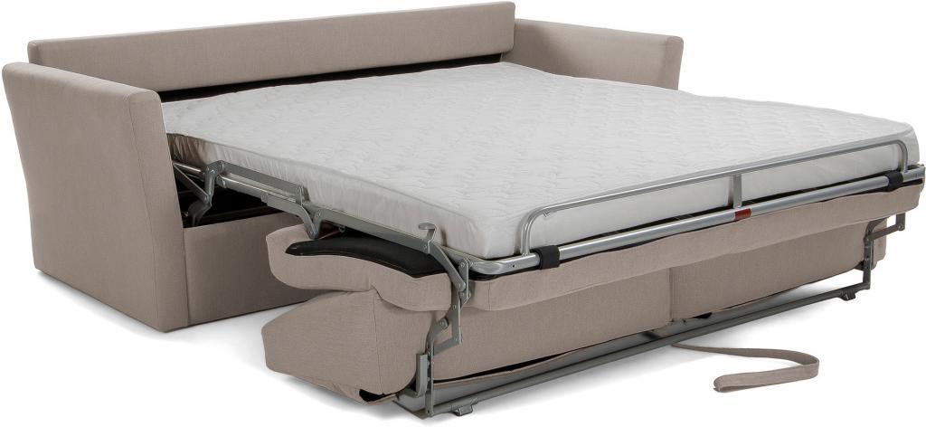 Matras Voor Slaapbank.Laforma Slaapbank Westriver Lichtgrijs Visco Matras 160 Cm La Forma